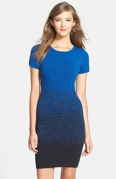 FELICITY+&+COCO+Ombré+Body-Con+Sweater+Dress+(Nordstrom+Exclusive)+available+at+#Nordstrom