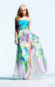 Women Beach Coverup Sundress Strapless Summer Dress - Beautiful ...