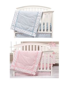 Pink And Blue Sky 6 Piece Bedding Collection