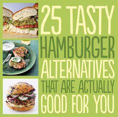 25 tasty burger alternatives