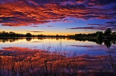 The Third Sunset (Fort Collins, Colorado) by Michael Menefee