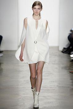 Avant Gard White Dress - Tres Chic - Dion Lee, Look #4