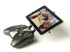 NVIDIA SHIELD controller & NVIDIA Shield Tablet 3d printed PIC NEEDS UPDATE:NVIDIA Controller and a Nexus 7 (Not an Nvidia Shield Tablet)