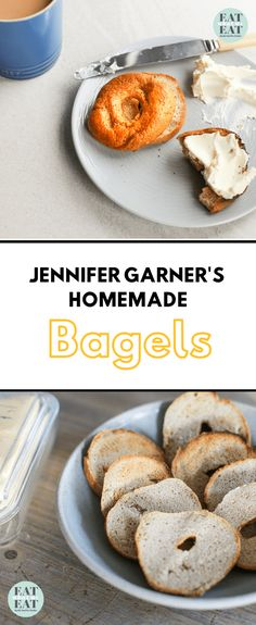 HOMEMADE BAGELS PIN Great Recipes, Dinner Recipes, Favorite Recipes, Homemade Bagels, Bagel Recipe, Most Delicious Recipe, Instant Yeast, How To Double A Recipe, Jennifer Garner