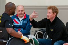 watchingwindsor:  Prince Harry attended the launch of the Invictus Games selection process at Tedworth House, April 29, 2014.