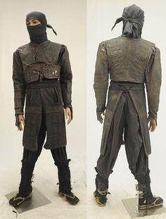 traditional ninja costuming