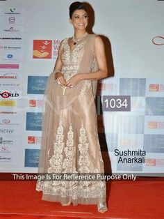 Bollywood Replica - Sushmita Sen Beige Color Suit - 1034(DF-514)