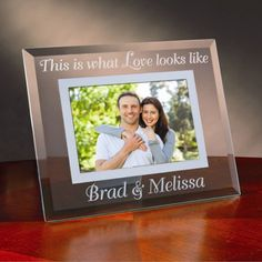 50th anniversary glass picture frame gifts pinterest