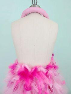 Pink Flamingo Costume Avant Garde 50s Inspired by WearTheCanvas