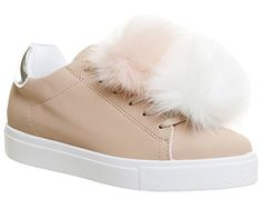 Office Fuzzy Pom Pom Lace Up Trainer Pink - 6 UK Office https://www.amazon.co.uk/dp/B073QGTK9B/ref=cm_sw_r_pi_dp_x_miD5zb8JMAHE4