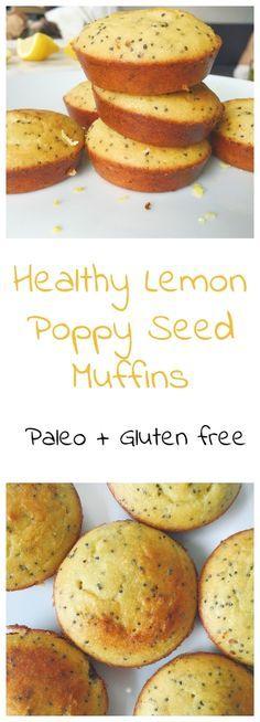 Healthy Lemon Poppy
