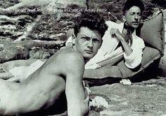 Jean Marais and Jean Cocteau, 1939
