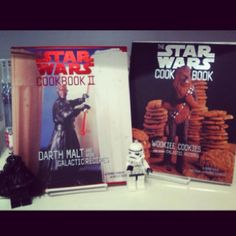 Star Wars and cooking together!! Awesome!!! =)