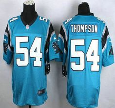 nfl Carolina Panthers Shaq Thompson GAME Jerseys