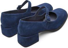 info for 9c3e3 1154b Camper Kobo Azul Zapatos de tacón Mujer K200218-004 Skor, Höga Klackar, Blå