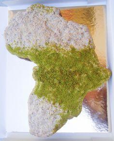 Gâteau Afrique • Africa cake by Pâtisserie Chez Bogato 7 rue Liancourt, Paris 14e. Ouvert du mardi au samedi de 10h à 19h. Tel. 01 40 47 03 51 Cake Design Birhtday cake Gâteau d'anniversaire