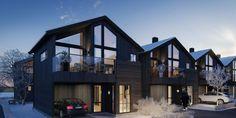 Sande Hus og Hytter AS - Nytt stort prosjekt på Oppdal Mansions, House Styles, Home Decor, Decoration Home, Manor Houses, Room Decor, Villas, Mansion, Home Interior Design