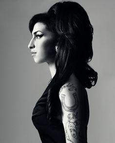 Bryan Adams  Amy Winehouse / Harper's Bazaar USA  September 2010
