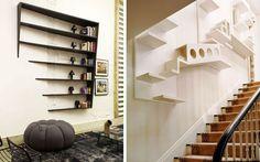 50 ejemplos para decorar con estanterías originales, modernas o curiosas