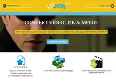 J2k is an snapshot format compression ordinary and coding process furnish new aspects peculiarly addressing the problem of working with giant pix  transformed and converted for films Projectors Playback is managed with the aid of making use of an XML-layout Composition Playlist, into an MXF-compliant file at a maximum knowledge rate of 250 Mbit/s  http://www.j2konline.com/  #J2k #J2k_Converter #j2k_conversion #Video_converter #j2k_format #j2k_video_converter