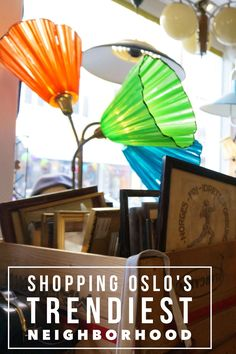 Shopping Oslo's coolest neighborhood, Grunerlokka for vintage, Norwegian souvenirs, and cute cafes.