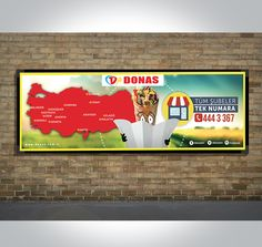Donas - Billboard Tasarımı