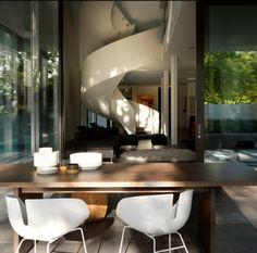 toorak house | stair ~ robert mills architects