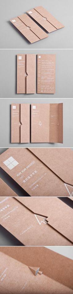 Print and Paper / Xue Xue Awards 2012 / Brochure Graphisches Design, Book Design, Layout Design, Print Design, Graphic Design, Design Cars, Design Logos, Identity Design, Design Ideas
