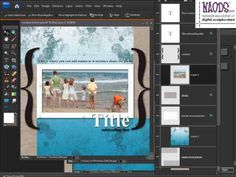 """""""How To Use Digital Scrapbook Templates""""   Michelle Stelling of the National Association of Digital Scrapbookers explains step by step how to use #digiscrap templates."""