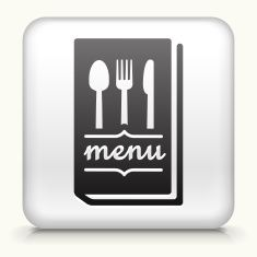 Royalty free vector icon button with Menu Icon vector art illustration