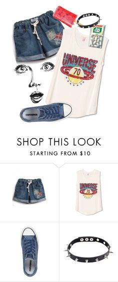 """""""fresh"""" by ahsennur-ozdemir ❤ liked on Polyvore featuring GE, WithChic and Converse"""
