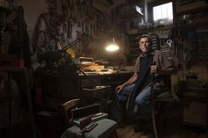 Beautiful Portraits Of Elderly Artisans In Their Workspaces - DesignTAXI.com