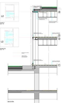 Proyecto de Iluminación: la fachada del Roca Barcelona Gallery por artec3 Studio Roca Barcelona, Portfolio Design, Lighting Design, Layout Design, Architecture Design, Concrete, Floor Plans, Detail, Ds