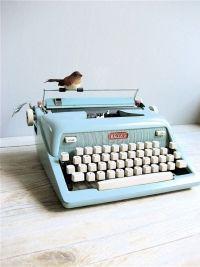 Máquina de escrever Royal  *-*