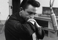 The Man In Black, Johnny Cash.  Simple and gritty at times, less was more.      I've collected his albums 'one piece at a time.'