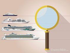 Tipología de barcos de crucero