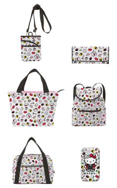 Handbags and wallets. Hello Kitty Sushi Collection.