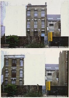 When Rachel Whiteread Turned an Entire House into a Concrete Sculpture Photography Sketchbook, Urban Photography, Artistic Photography, Amazing Photography, Food Photography, Pixel Photography, Grunge Photography, Photography Studios, Photography Portraits
