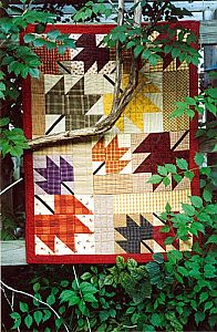 Sugar Maple Quilt Pattern -- work in your favorite fall colors for when the weather turns cool