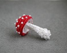 Toadstool//mushroom pick x 100 PCS Floral autumnal crafts