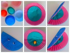 Happy Clam paper plate craft
