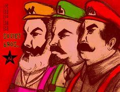 Super Soviet Bros. by Gruntchovski.deviantart.com on @deviantART