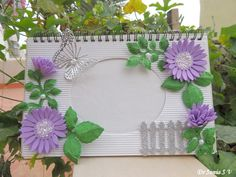 Cards ,Crafts ,Kids Projects: Foam Flowers Photoframe
