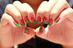 Strawberries #nails