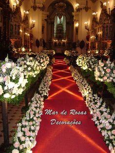 Mar de Rosas Decorações Lindolfo Soares: Igreja de Nossa Senhora do Bonsucesso