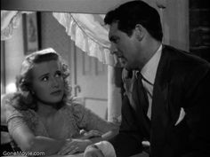 "Priscilla Lane with Cary Grant in ""Arsenic and Old Lace"" One of my favorite movies!"