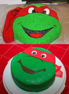 The Coolest Cake Ever With Teenage Mutant Ninja Turtle Cake Ideas, Teenage Mutant Ninja Turtles Cake Pan