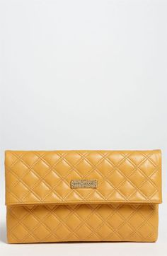 MARC JACOBS 'Eugenie - Large' Quilted Leather Clutch | Nordstrom #Houlihans #SoWinningThis
