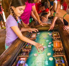 You'll love waiting for the new Seven Dwarfs Mine Train at Disney World, thanks to fun activities in the interactive queue. | About.com Family Vacations #Disney #minetrain #DisneyWorld #MagicKingdom #WaltDisneyWorld