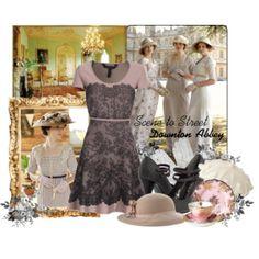 Scene to Street: Downton Abbey